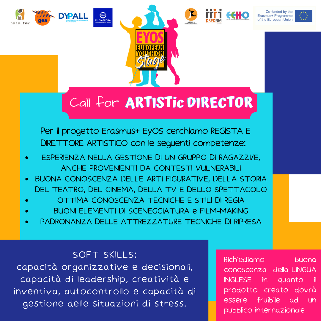 Call For Director & Artistic Director